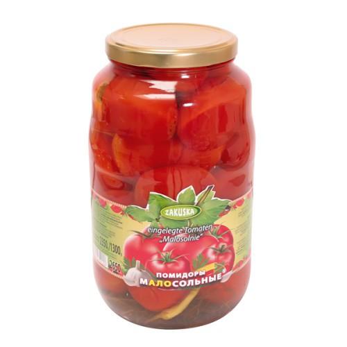 Помидоры малосольные/Rahlo osoljeni paradižnik 2650 ml. Zakuska.