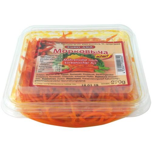 Морковь по-корейски/Korejsko korenje. Evro Azija.