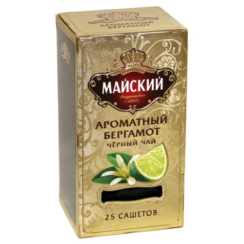 Чай Майский,ароматный бергамот/ Majski čaj, aromatična bergamota. 25v.