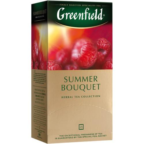 Чай Гринфилд Летний букет /Greenfield čaj Poletni šopek 25v.