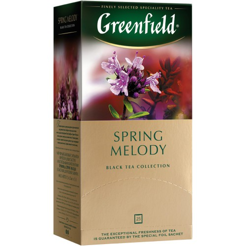Чай Гринфил Весенние мелодии/Greenfield Tea Spring melody 25v.