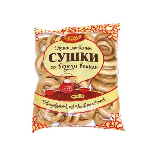 Сушки со вкусом ванили/Preste vanilni. Хлебодар