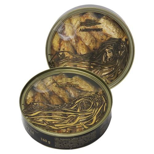 Шпроты / Papaline 160gr. Amberfish