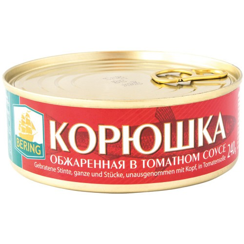 Корюшка в том. соусе / Koruška v paradižnikovoj omake. Bering