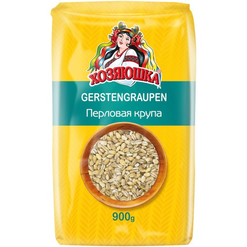 Крупа Перловая / Ješprenj 900 g. Хозяюшка.