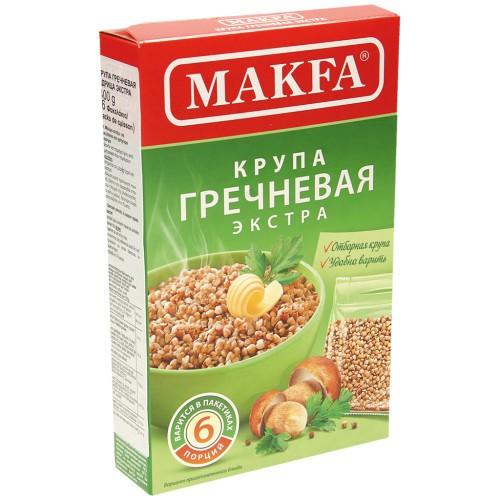 Крупа Гречневая в пакетиках/ Ajda v vrečkah Макfа.