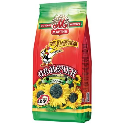 Семечки /Sončnična semena 100 g. Мартин