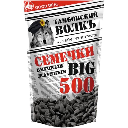 Семечки /Sončnična semena 500 g. Тамбовский волк.