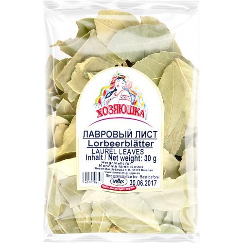 Лавровый лист/Lovorjev list 30 g. Хозяюшка.