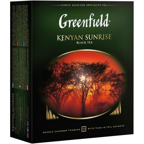 Чай Гринфилд Kenian Sunrise / Greenfield Kenian Sunrise čaj 100vr.*2g