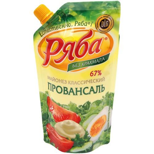Майонез Провансаль/Majoneza Provansaljska 215 ml. Ряба.
