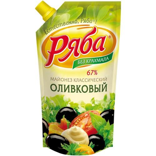 Майонез Оливковый/Majoneza Oliva 215 ml. Ряба.