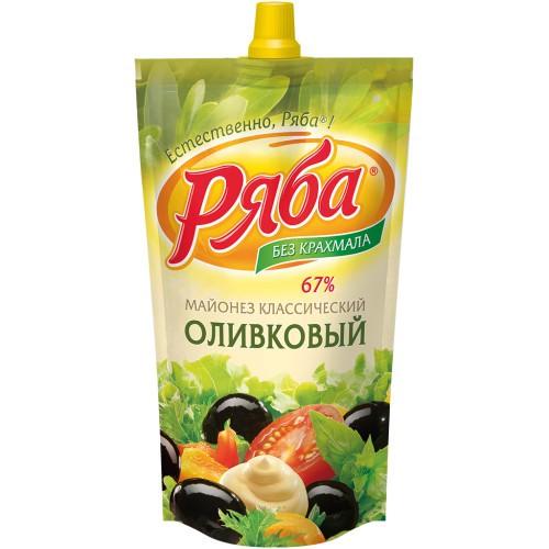 Майонез Оливковый/Majoneza Oliva 420 ml. Ряба.