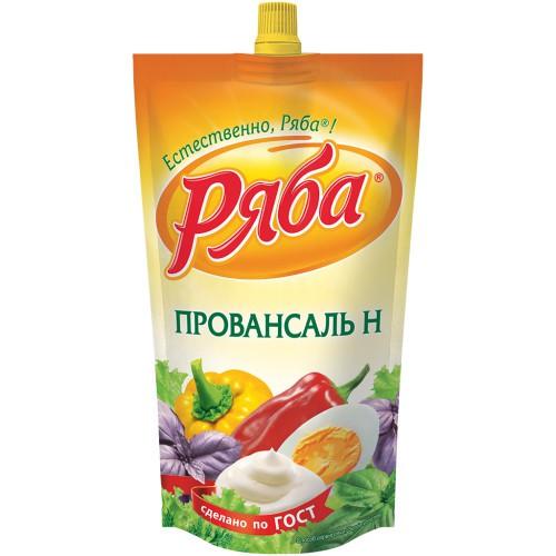 Майонез Провансаль Н/Provansalska N majoneza, 410 ml. Ряба.