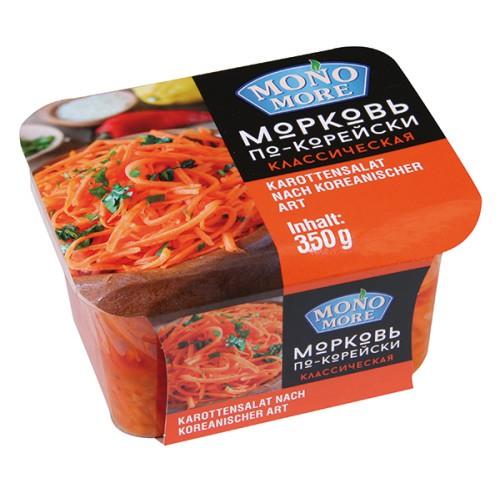 Морковь по-корейски/Korejsko korenje 350 g. Mono more.