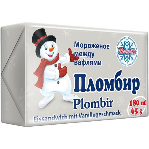Пломбир/ Sladoled 65 g. Мonolith