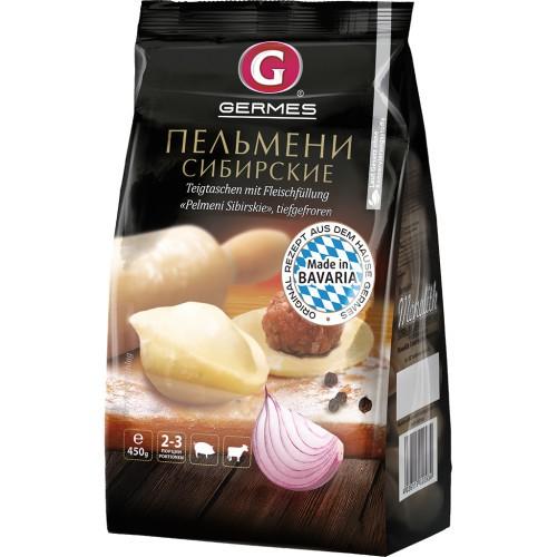 Pelmeni Sibirskije 450 gr. Germes/Пельмени Сибирские