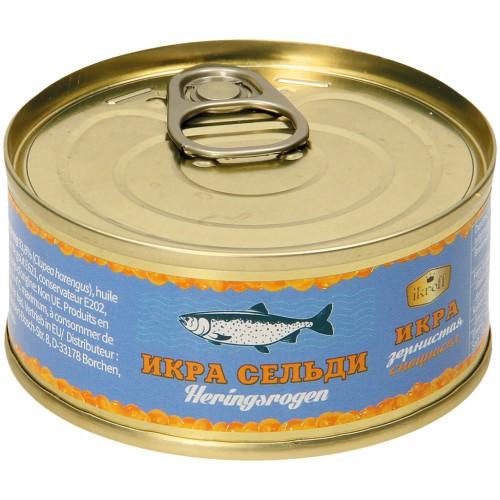 Икра Сельди. Sledov kaviar 75 gr. Ikroff.