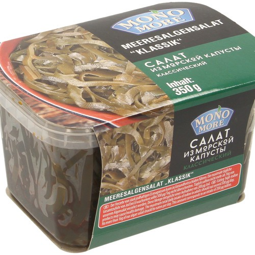 Салат из морской капусты / Solata iz morskih alg. Mono morje. 350gr.