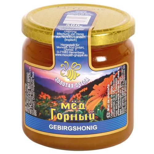 Мед Горный/ Gorski med. Золотая пчелка.