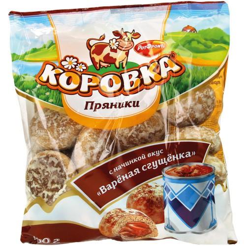 Пряники Коровка с вареной сгущенкой. РотФронт.