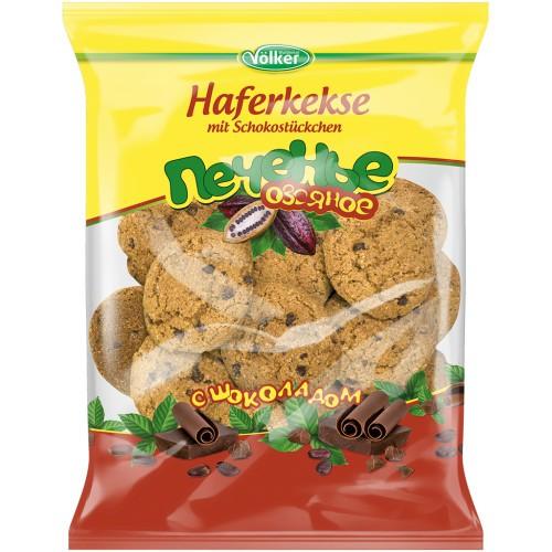 Овсяное печенье с шоколадом/Ovseni piškoti s čokolado. Volker.