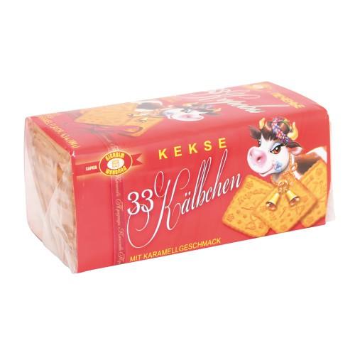 Печенье 33 коровы с карамелью/Piškoti 33 krav s karamelo